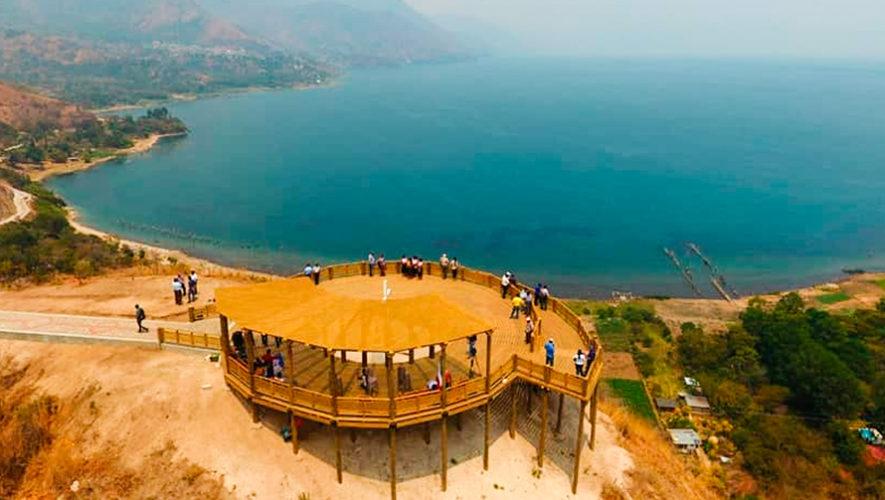El nuevo parque y mirador turístico Cerro Kiaq'Aiswaan en San Juan La Laguna, Sololá