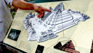 Exposición acerca del sitio arqueológico El Mirador | Mayo 2019