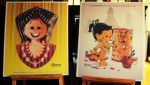 Exposición de caricaturas mayas en Guatemala | Abril - Mayo 2019