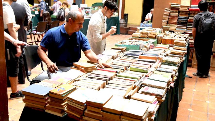 Feria del libro artesanal en Guatemala | Abril 2019