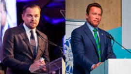 Fundación de Leonardo DiCaprio y Schwarzenegger apoyan iniciativa a la que pertenece Guatemala