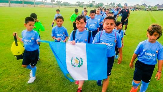 Guatemala lista para competir en el Barça Academy World Cup 2019