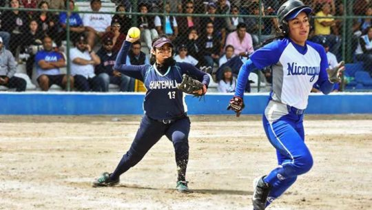 Guatemala será sede del Torneo Centroamericano Juvenil Femenino de Sóftbol