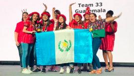Guatemaltecas ganaron el segundo lugar en la categoría Inspiración de First Lego League 2019