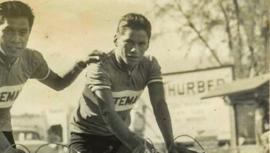 Jorge Surqué, el ganador histórico de la primera Vuelta Ciclística a Guatemala
