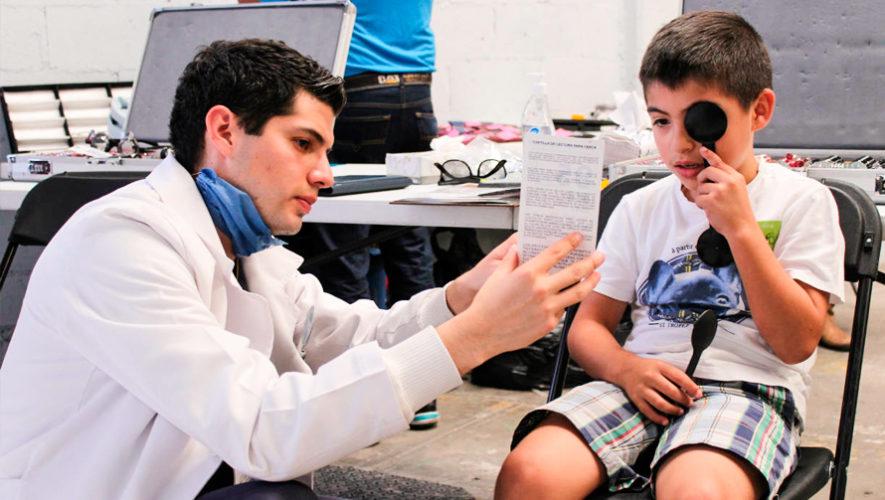 Jornada de optometría a bajo costo en Antigua Guatemala para abril de 2019