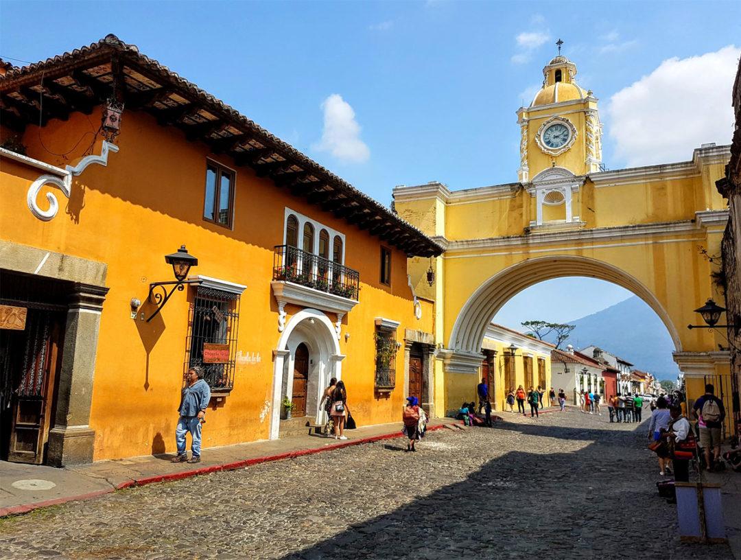 La ciudad de Antigua Guatemala