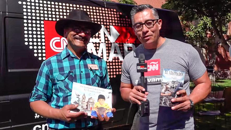 La historia de René Corado fue destacada en un reportaje de CNN en Español