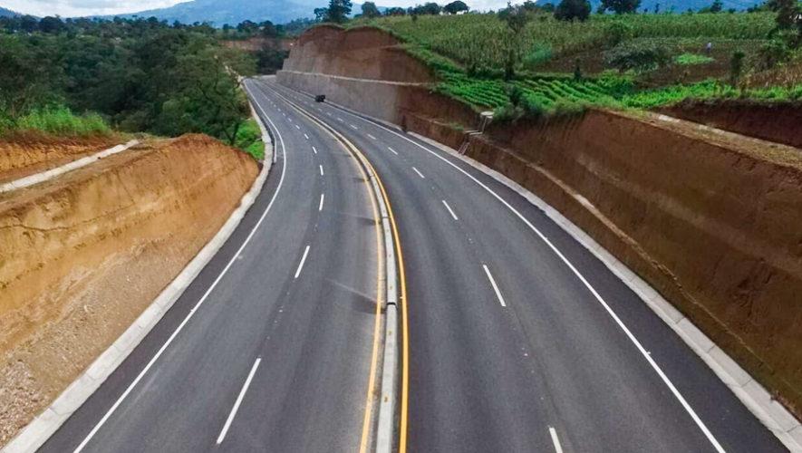 Libramiento de Chimaltenango en la ruta Interamericana tiene 14 kilómetros de carretera