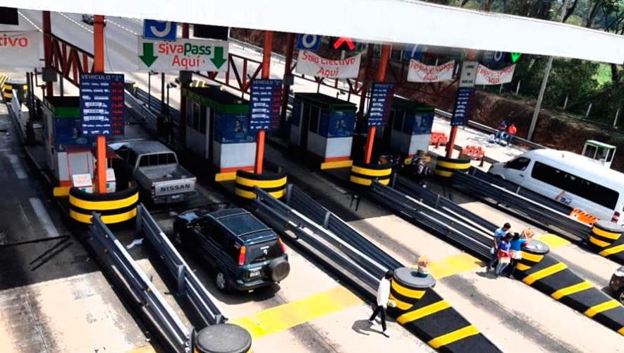 Los cambios que tendrá la Autopista Palín Escuintla para Semana Santa 2019