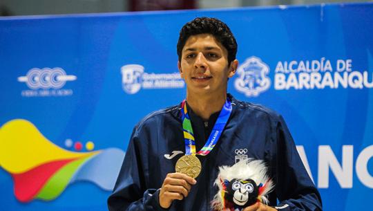 Luis Martínez es el segundo guatemalteco clasificado a Juegos Olímpicos de Tokio 2020