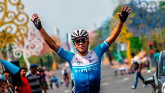 Manuel Rodas ganó su segundo oro en el Campeonato Centroamericano de Ruta 2019