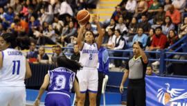 Natalie Larrañaga, la máxima encestadora y asistente del Torneo Centroamericano COCABA U-16 2019