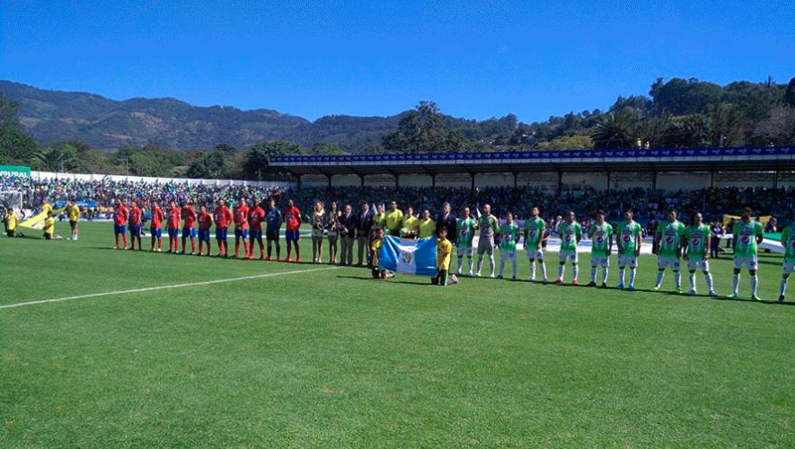 Partido de Antigua y Municipal por el Torneo Clausura | Abril 2019