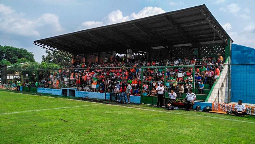 Partido de Siquinalá y Sanarate por el Torneo Clausura   Abril 2019