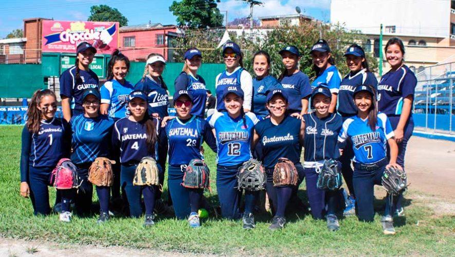 Partidos de Guatemala en el Torneo Centroamericano Juvenil de Sóftbol | Abril 2019