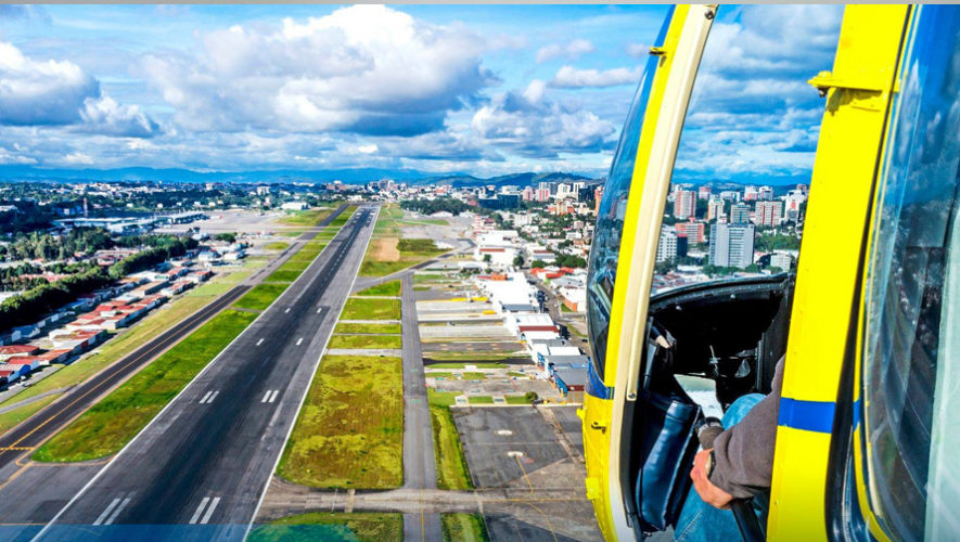 Paseo en helicóptero por la Ciudad de Guatemala | Mayo 2019