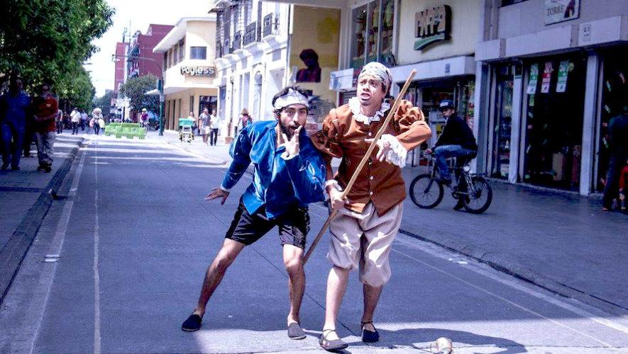 Poesía en las Calles, recorrido por las calles de la Zona 1 | Abril 2019