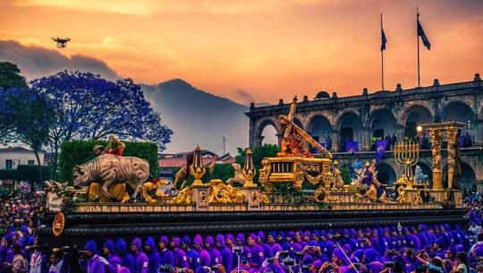 Procesiones más famosas de Semana Santa en Guatemala