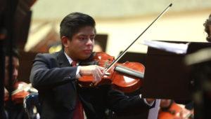 Recital de violín en el Conservatorio Nacional de Música | Abril 2019