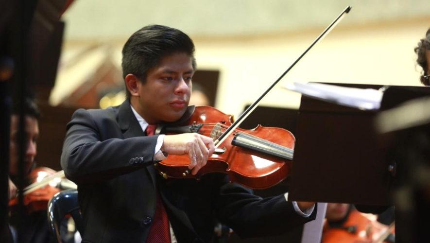 Recital de violín en el Conservatorio Nacional de Música   Abril 2019