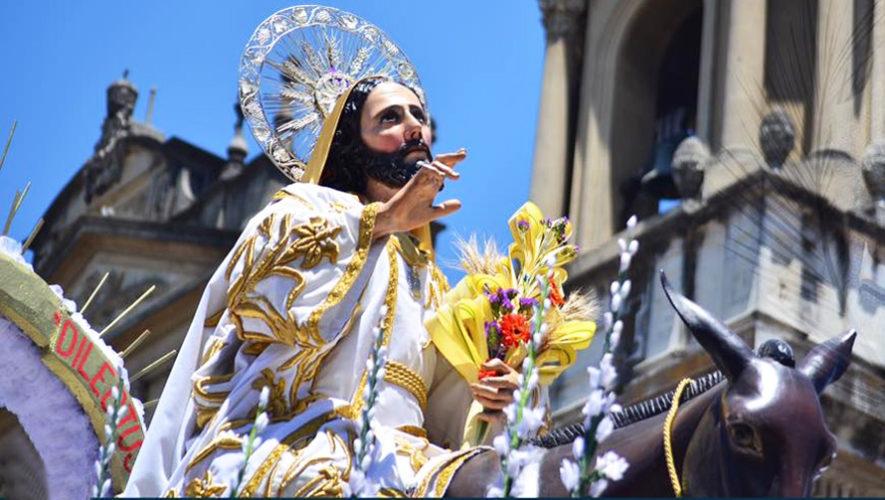 Recorrido procesional de Jesús de las Palmas de Capuchinas, Domingo de Ramos | Semana Santa 2019
