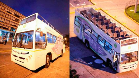 Recorridos del Trolley bus y Turibus gratuitos en Guatemala durante Semana Santa 2019
