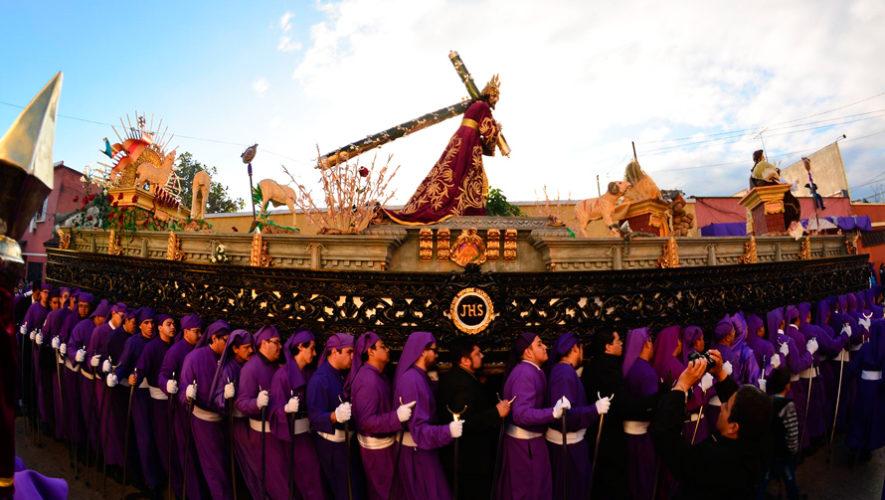Recorridos procesionales de Semana Santa 2019 en la Ciudad de Guatemala