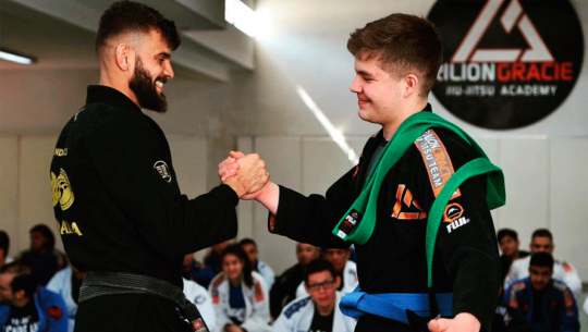 Santiago Villatoro ganó medalla de bronce en el Panamericano de Jiu Jitsu 2019