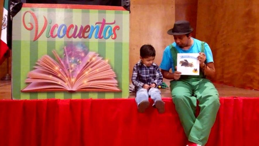 Show de cuentacuentos gratuito para niños | Abril 2019