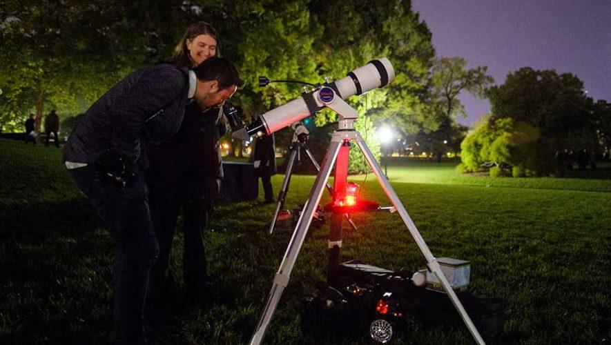 Taller de uso de telescopios para principiantes | Abril 2019