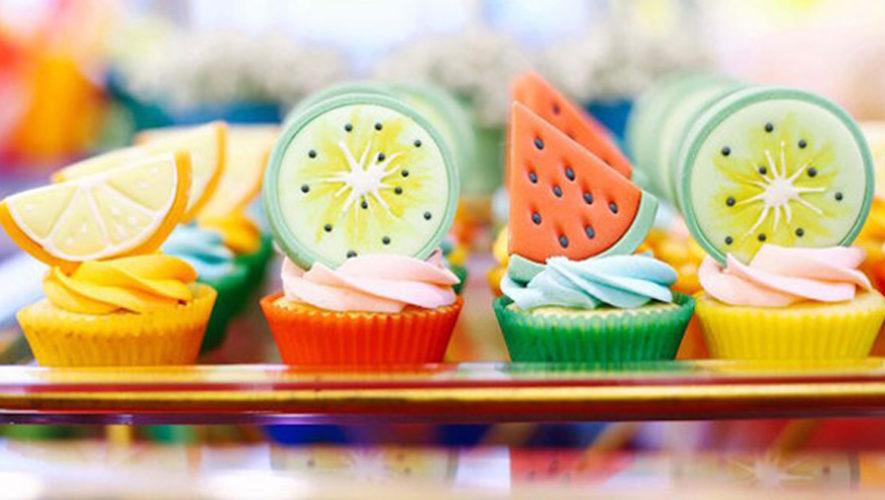Taller gratuito para decorar cupcakes de frutas | Abril 2019