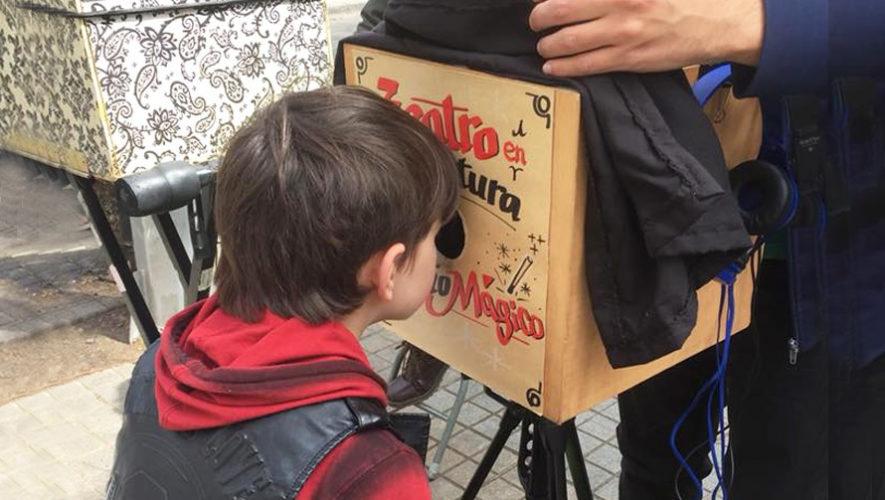 Taller para crear un teatro en miniatura en Panajachel| Abril 2019
