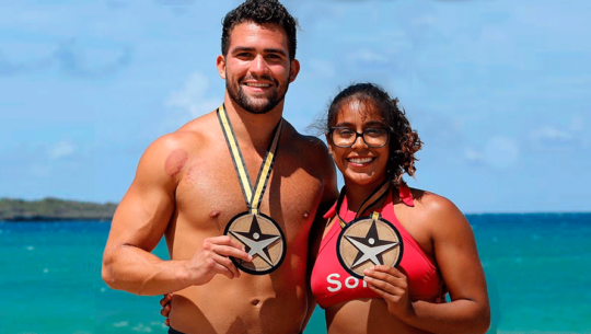 Tercera medalla para Ana Sofía Gómez en Exatlón Estados Unidos 2019