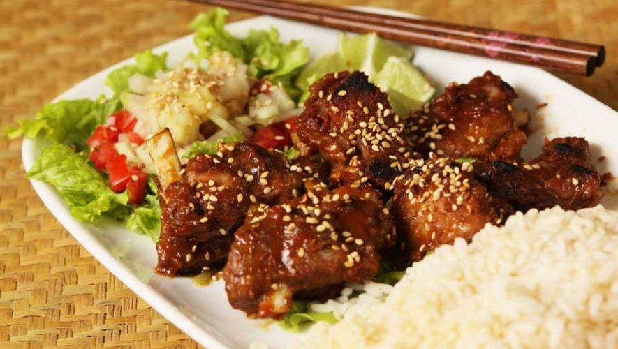 Todo lo que puedas comer de platillos asiáticos en Xela | Abril 2019