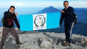 Volcanes Libres de Basura: volcán Tajumulco   Mayo 2019