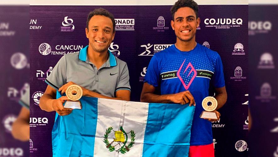 Wilfredo González es campeón de dobles en el Cancun Tennis Bowl 2019