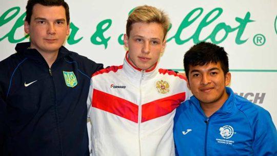 Albino Jiménez ganó bronce en el Gran Prix de Liberación 2019 en República Checa