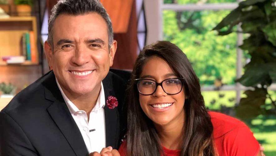 """Ana Sofía Gómez fue entrevistada en el programa """"Un Nuevo Día"""" de Telemundo"""