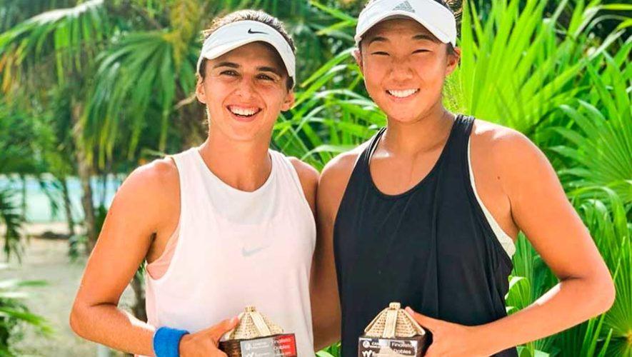 Andrea Weedon sumó un nuevo subcampeonato en el Cancun Tennis Cup 2019