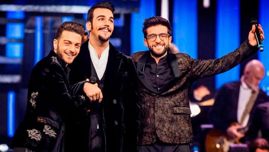Anuncian concierto de Il Volo en Guatemala para el 2019
