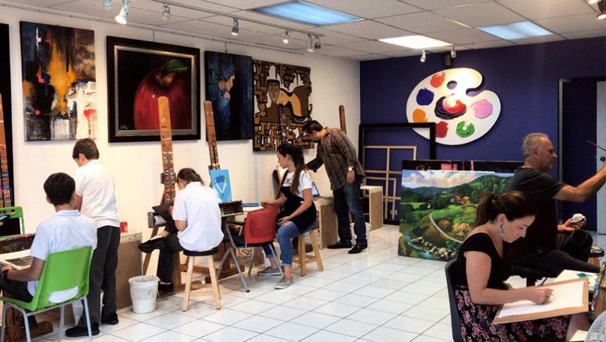 Arriola Art Academy, academia de pintura y dibujo en Ciudad de Guatemala