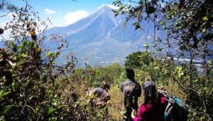 Ascenso al volcán de Agua por ruta Alotenango   Mayo 2019
