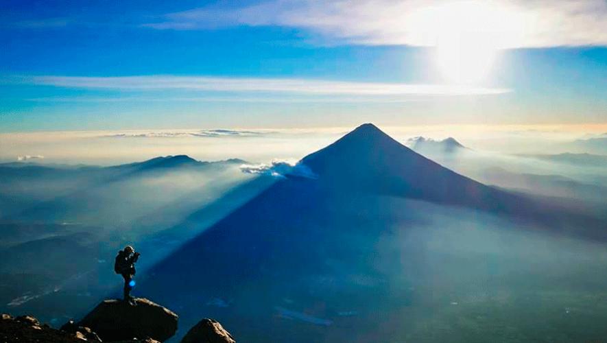 Ascenso nocturno al volcán Acatenango   Mayo 2019