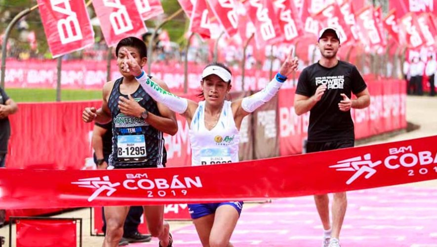 Carlos González y Blanca Orozco, los mejores de Guatemala en Media Maratón de Cobán 2019