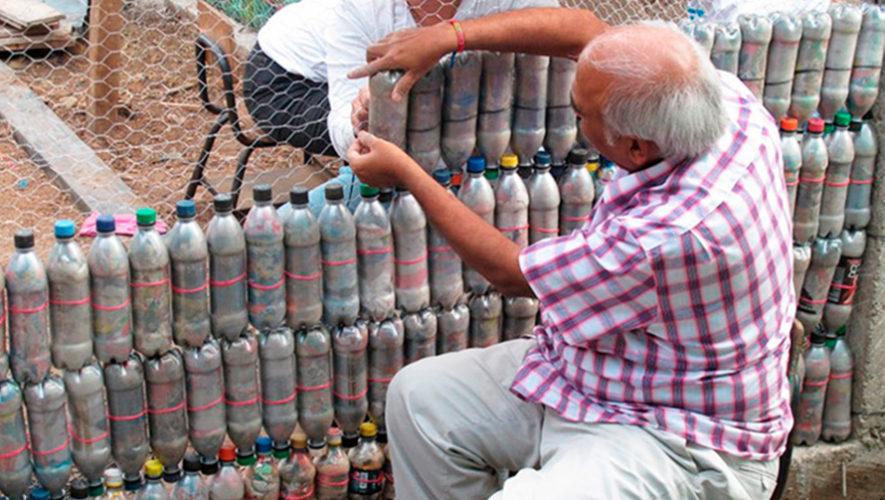 Colecta de ladrillos ecológicos en la Ciudad de Guatemala | Junio 2019