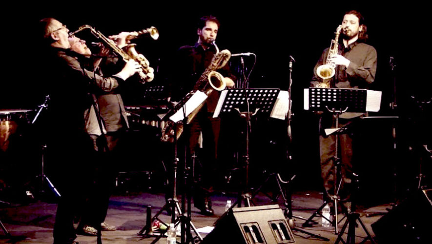 Concierto de jazz por Ialsax Quartet, de Italia | Festival de Junio 2019