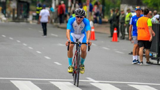 Dorian Monterroso, el mejor centroamericano del Campeonato Panamericano de Ruta 2019