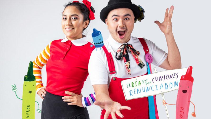 El día que los crayones renunciaron, teatro para niños | Mayo - Junio 2019