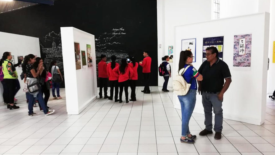 Exposición colectiva de pintura en el Mapa en Relieve | Mayo 2019